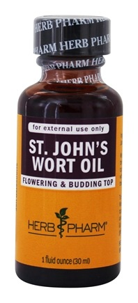 DROPPED: Herb Pharm - St. John's Wort Oil - 1 oz. Formerly Saint