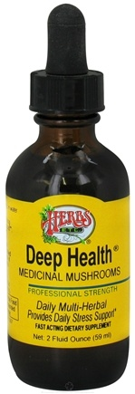 DROPPED: Herbs Etc - Deep Health Medicinal Mushrooms Professional Strength - 2 oz. CLEARANCE PRICED