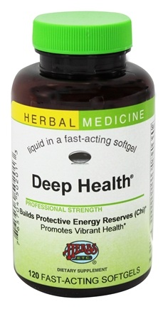 Herbs Etc - Deep Health Medicinal Mushrooms Alcohol Free - 120 Softgels
