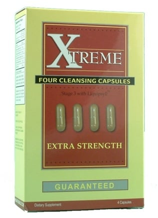 DROPPED: Heaven Sent - Xtreme Four Cleansing Capsules - 4 Capsules