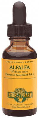 DROPPED: Herb Pharm - Alfalfa Herb Extract - 1 oz.