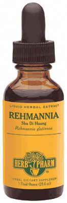 DROPPED: Herb Pharm - Rehmannia (Shu Di Huang) Extract - 1 oz. CLEARANCE PRICED