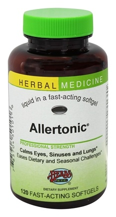 Herbs Etc - Allertonic Alcohol Free - 120 Softgels