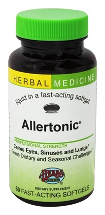 Herbs Etc - Allertonic Alcohol Free - 60 Softgels
