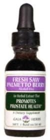 DROPPED: Gaia Herbs - Saw Palmetto Berry A/F - 1 oz.