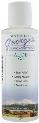DROPPED: George's Aloe - Aloe Gel - 4 oz.