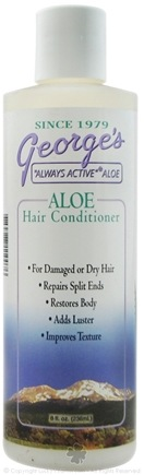 DROPPED: George's Aloe - Aloe Hair Conditioner - 8 oz. CLEARANCE PRICED