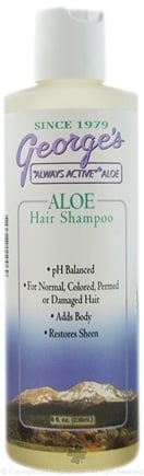 DROPPED: George's Aloe - Aloe Hair Shampoo - 8 oz. CLEARANCE PRICED