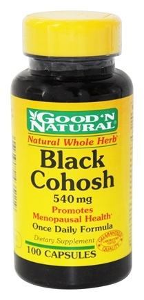 Good 'N Natural - Black Cohosh 540 mg. - 100 Capsules