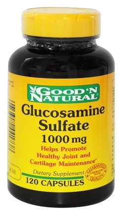 Good 'N Natural - Glucosamine Sulfate 1000 mg. - 120 Capsules