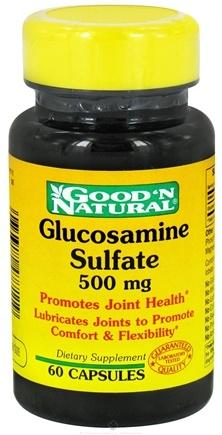 DROPPED: Good 'N Natural - Glucosamine Sulfate 500 mg. - 60 Capsules