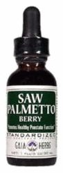 DROPPED: Gaia Herbs - Saw Palmetto Berry - 1 oz.