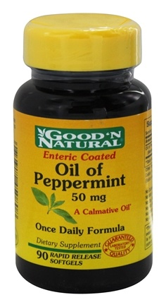 Good 'N Natural - Oil of Peppermint 50 mg. - 90 Softgels