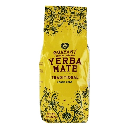 Guayaki - Organic Loose Leaf Yerba Mate Traditional - 8 oz.