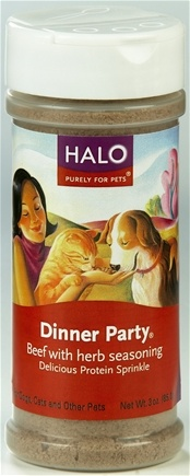 DROPPED: Halo Purely for Pets - Dinner Party Beef & Herbs Beef & Herbs - 3 oz.