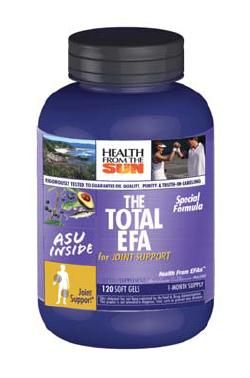 DROPPED: Health From The Sun - Total EFA for Joint Support - 120 Softgels