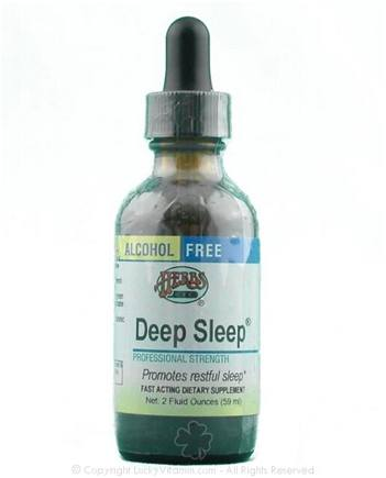 DROPPED: Herbs Etc - Deep Sleep- Alcohol Free - 2 oz.