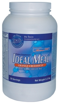 DROPPED: Hi-Tech Pharmaceuticals - Ideal Meal Strawberry - 3.2 lbs.