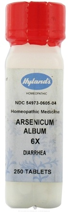 DROPPED: Hylands - Arsenicum Album 6 X - 250 Tablets CLEARANCE PRICED