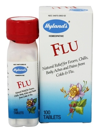 DROPPED: Hylands - Flu - 100 Tablets