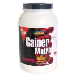 DROPPED: ISS Research - Gainer Matrix Strawberry - 4 lbs.