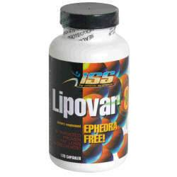 DROPPED: ISS Research - Lipovar 8 - 120 Capsules