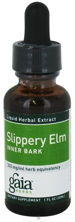 DROPPED: Gaia Herbs - Slippery Elm Inner Bark - 1 oz.