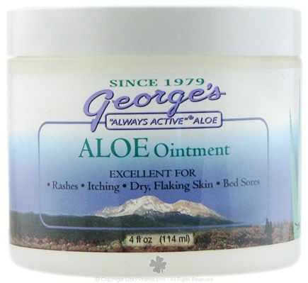 DROPPED: George's Aloe - Aloe Ointment - 4 oz.