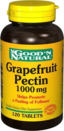 DROPPED: Good 'N Natural - Grapefruit Pectin 1000 mg. - 120 Tablets