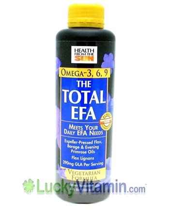DROPPED: Health From The Sun - Total EFA Organic Lignan Vegetarian Formula - 8 oz.