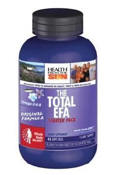 DROPPED: Health From The Sun - Total EFA Starter Pack - 45 Softgels