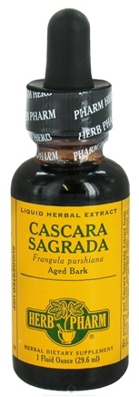 DROPPED: Herb Pharm - Cascara Sagrada Extract - 1 oz. CLEARANCE PRICED