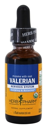 DROPPED: Herb Pharm - Valerian Extract - 1 oz.