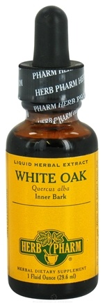 DROPPED: Herb Pharm - White Oak Extract - 1 oz. CLEARANCE PRICED