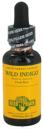 DROPPED: Herb Pharm - Wild Indigo Extract - 1 oz. CLEARANCED PRICED
