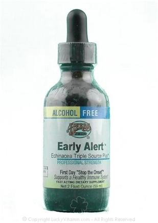 DROPPED: Herbs Etc - Early Alert ( Echinacea Triple Source Plus)- Alcohol Free - 2 oz.