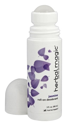 Home Health - Herbal Magic Roll-On Deodorant Jasmine Scent - 3 oz.