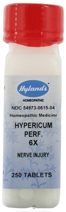 DROPPED: Hylands - Hypericum Perfoliatum 6 X - 250 Tablets CLEARANCE PRICED