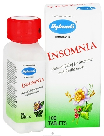 DROPPED: Hylands - Insomnia - 100 Tablets