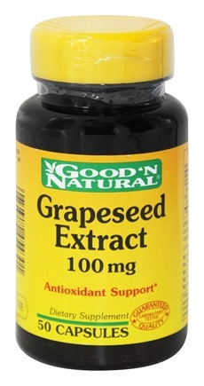 DROPPED: Good 'N Natural - Grape Seed Extract 100 mg. - 50 Capsules