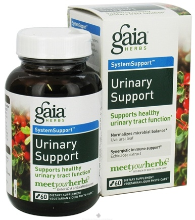 DROPPED: Gaia Herbs - Urinary Support Liquid Phyto Capsules - 60 Vegetarian Capsules