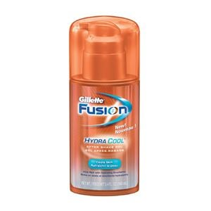 DROPPED: Gillette - Fusion After Shave HydraCool Gel - 3.38 oz. SPECIALLY PRICED