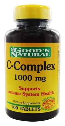 DROPPED: Good 'N Natural - C-Complex 1000 mg. - 100 Tablets
