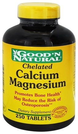 DROPPED: Good 'N Natural - Chelated Calcium-Magnesium - 250 Tablets