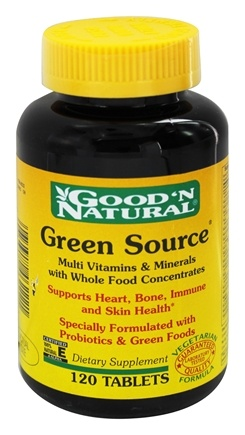Good 'N Natural - Green Source - 120 Tablets