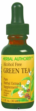 DROPPED: Herbal Authority - Green Tea Alcohol Free - 1 oz. Formerly called Good 'N Natural