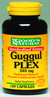 DROPPED: Good 'N Natural - Guggul Plex 340mg