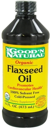 Good 'N Natural - Organic Flaxseed Oil - 16 oz.