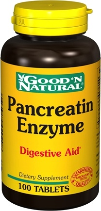 DROPPED: Good 'N Natural - Pancreatin Enzyme - 100 Tablets
