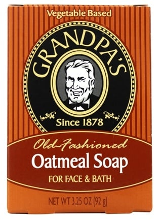 Grandpa's Soap Co. - Old Fashioned Oatmeal Soap For Face & Bath - 3.25 oz.